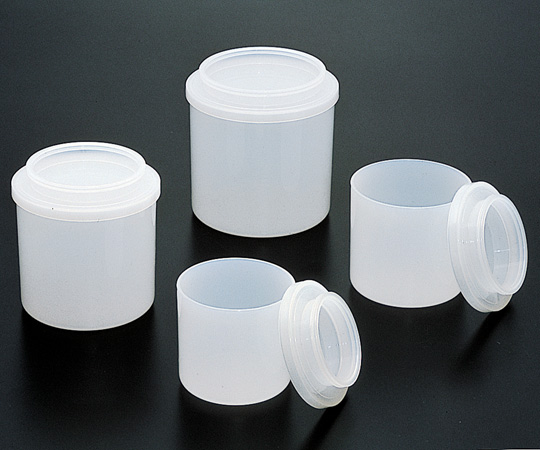 アズワン PFAポット 3D本体 (4-5612-03) 《樹脂製容器》