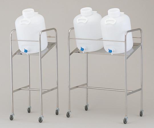 アズワン 傾斜式ハンディーボトルスタンド 10WK (1-4841-02) 《樹脂製容器》