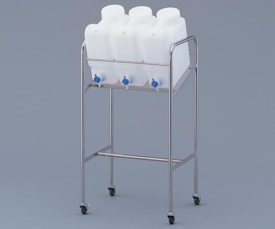 アズワン ヘンペイ活栓付瓶用傾斜スタンド 2-7826-12 《樹脂製容器》