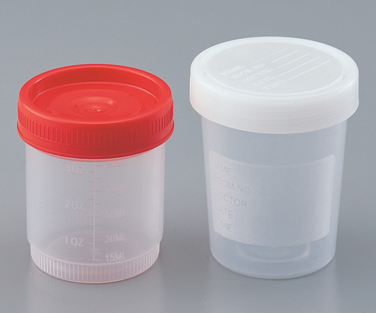 アズワン 食品用検体容器 GDSKY-100ML (2-8088-02) 《容器・コンテナー》