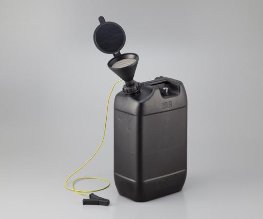 アズワン 液面計付き廃液回収容器 118980 (1-1733-03) 《樹脂製容器》