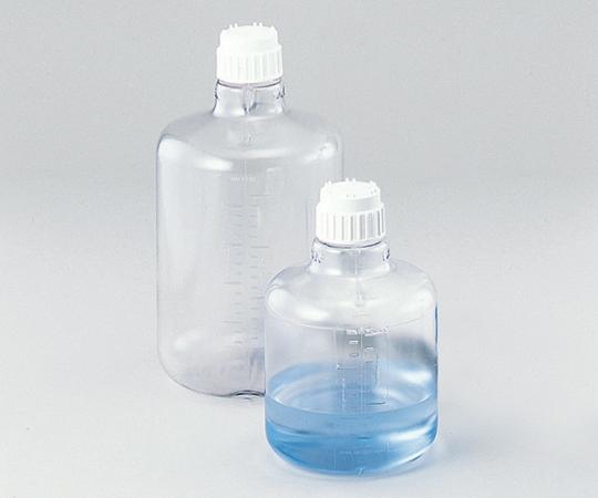 アズワン 大型透明丸型瓶 2251-0050 (1-7904-02) 《樹脂製容器》