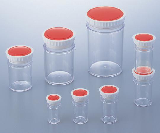 アズワン ラボランPSサンプル管瓶 PS-50 (9-892-15) 《樹脂製容器》