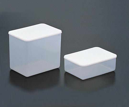 アズワン PFA角型容器 4.3l本体 (4-5607-02) 《樹脂製容器》