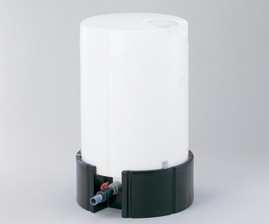 アズワン スイコータンク (架台付・底傾斜) HT-100 (1-7761-02) 《容器・コンテナー》