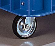【代引不可】 アズワン ジャンボックス 1000用キャスター (5-395-06) 《大型容器》 【メーカー直送品】