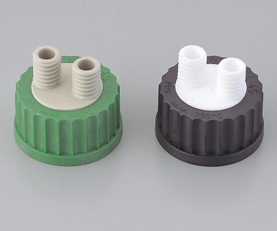 アズワン ねじ口瓶用キャップ (硬質マルチチューブ用) BL61208 (1-7427-01) 《ガラス製容器》