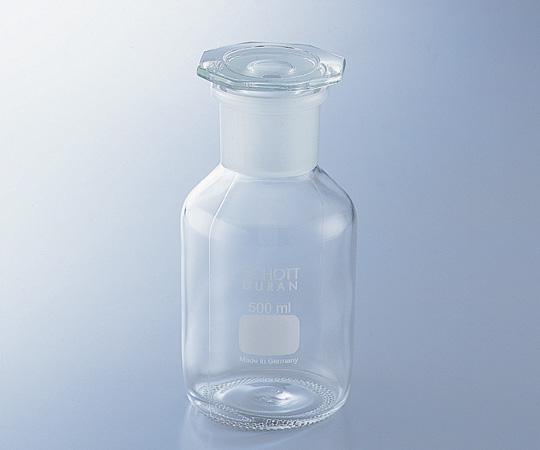 アズワン 試薬瓶 (広口・栓付き)(DURAN(R)) 1-8398-06 《ガラス製容器》