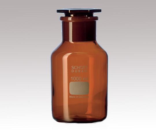 アズワン 試薬瓶 (広口・栓付き)(DURAN(R)) 2-1972-04 《ガラス製容器》