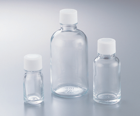 アズワン 細口規格瓶 TK-10(透明) (5-131-11) 《ガラス製容器》