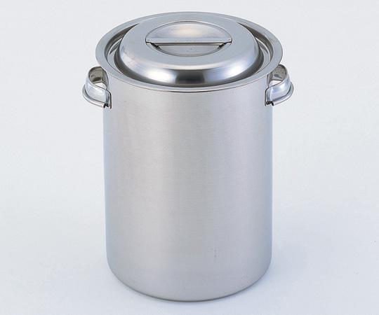 アズワン ストックポット (深型) 24型 (1-9753-05) 《金属製容器》