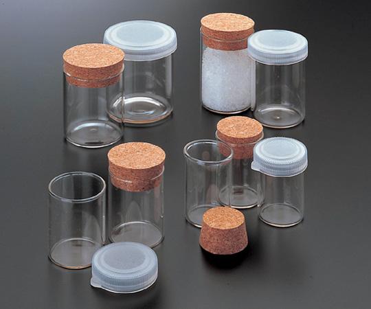 アズワン スナップカップ (サンプル瓶) No.30 (4-3023-01) 《ガラス製容器》