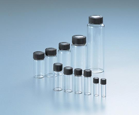 アズワン マイティバイアル (硼珪酸ガラス製) No.7 (5-115-10) 《容器・コンテナー》