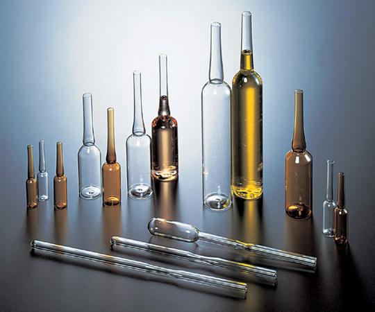 アズワン アンプル管 (硼珪酸ガラス製) 5-124-01 《ガラス製容器》