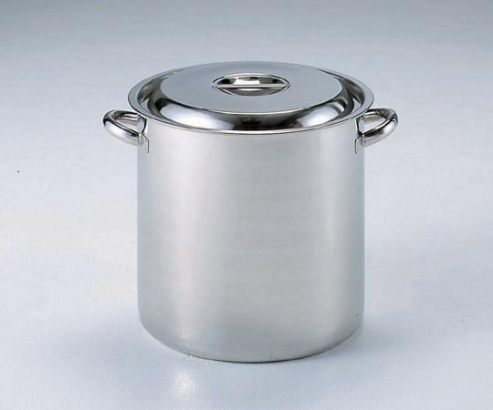 アズワン ストックポット 30 (5-372-06) 《金属製容器》