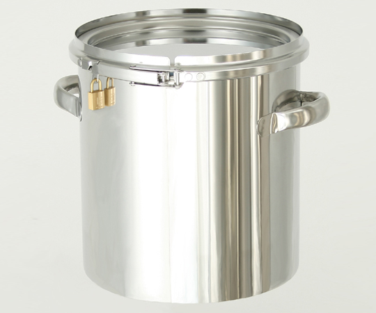 アズワン 南京錠付密閉式タンク (CTLタイプ) CTLK-47 (1-7504-08) 《容器・コンテナー》