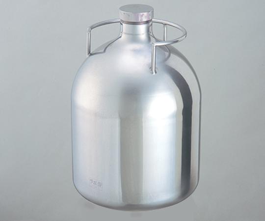 アズワン 把手付ステンレスボトル (ラボ缶(R)) LC-05R (1-9417-02) 《容器・コンテナー》