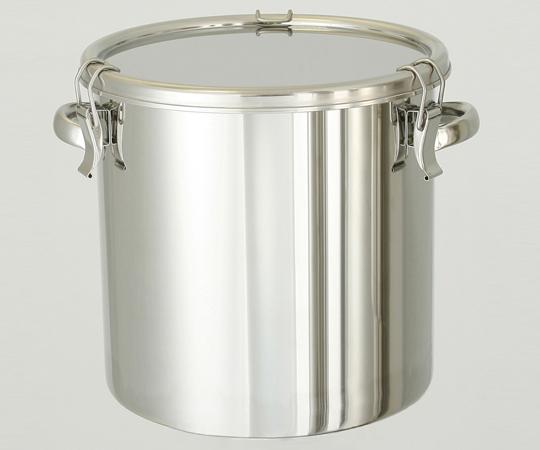 アズワン ステンレス密閉容器 (電解研磨タイプ) CTH-24-EP (2-8256-02) 《金属製容器》