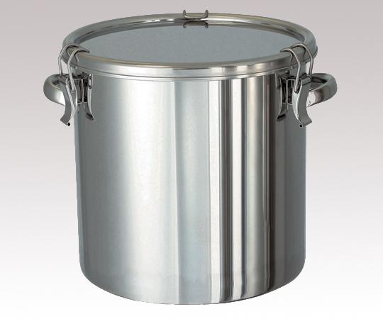 アズワン 密閉タンク (把手タイプ・SUS304) CTH-36 (5-145-06) 《金属製容器》