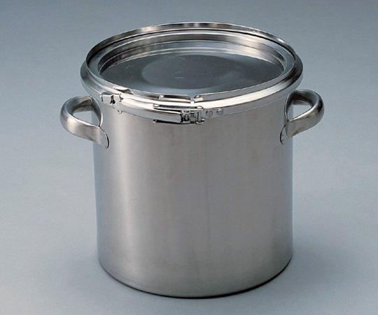 アズワン 密閉式タンク (バンドタイプ・SUS304) CTL-24 (5-149-01) 《金属製容器》
