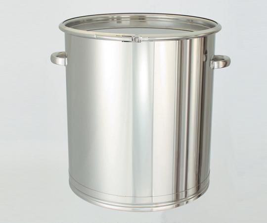 アズワン 密閉式タンク (バンドタイプ・SUS304) CTL-565 (5-149-17) 《金属製容器》