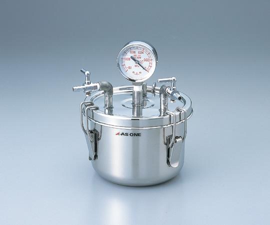 アズワン ステン真空缶 SSK-01 (1-6095-01) 《金属製容器》