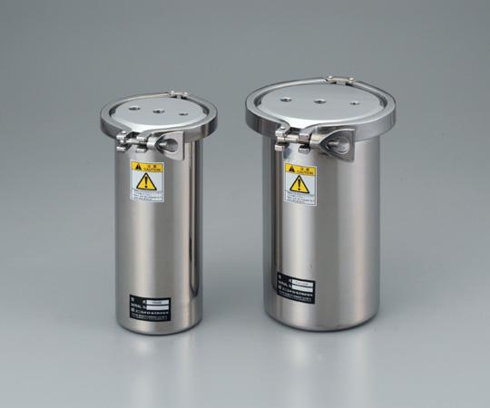 アズワン ステンレス加圧容器 (TAシリーズ) TA90N(本体) (1-6716-01) 《金属製容器》