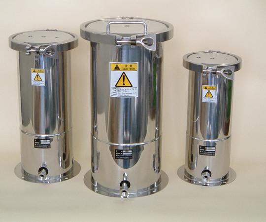 アズワン ステンレス加圧容器 (TBシリーズ) TB3N (1-9524-02) 《金属製容器》