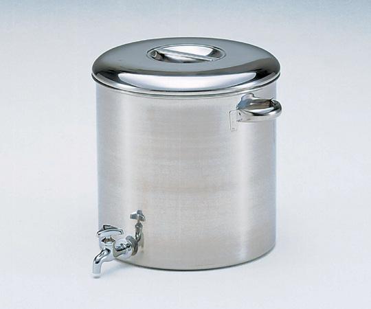 アズワン 蛇口付タンク 36型 (4-5006-04) 《金属製容器》