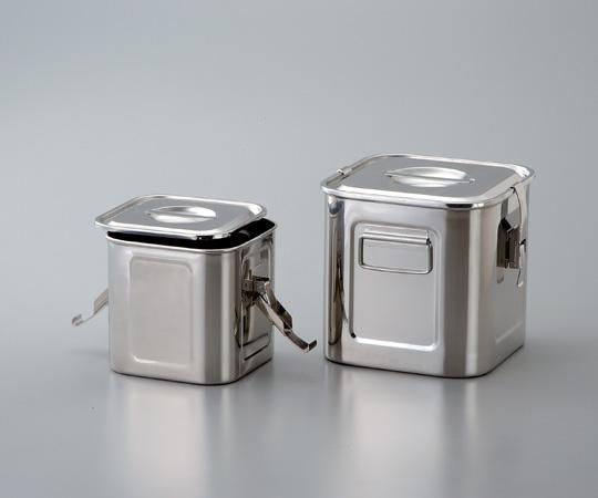 アズワン 27型 角型パッキン式タンク (4-5627-10) 《金属製容器》