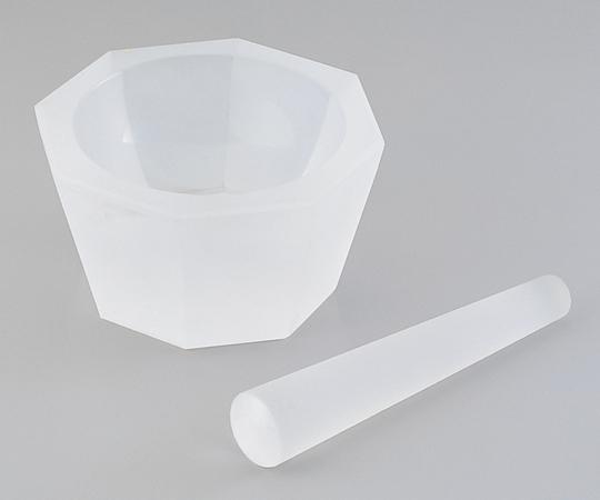 アズワン 石英ガラス製乳鉢 (乳棒付き) 1-4221-06 《研究・実験用機器》