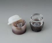 アズワン めのう製マグネット乳鉢セット 35g筒 (1-6020-06) 《研究・実験用機器》