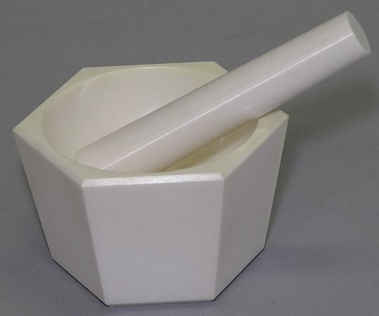 アズワン ジルコニア乳鉢セット ZEX-100 (5-3468-03) 《研究・実験用機器》