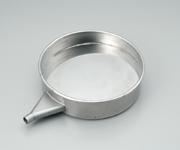 アズワン 電磁式ふるい振とう機 湿式用受皿(ふるい用) (5-5600-13) 《研究・実験用機器》