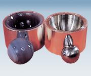 アズワン 電磁式ふるい振とう機 メノーボール(粉砕機用)φ70mm (5-5600-17) 《研究・実験用機器》
