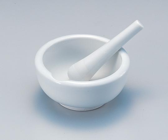 アズワン 磁製乳鉢 (乳棒付) 6-549-09 《研究・実験用機器》