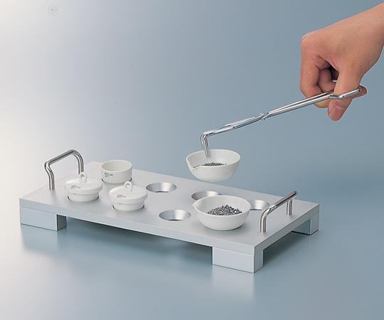 アズワン アルミ製ルツボ架台 5-5370-02 《実験器具・材料・備品》