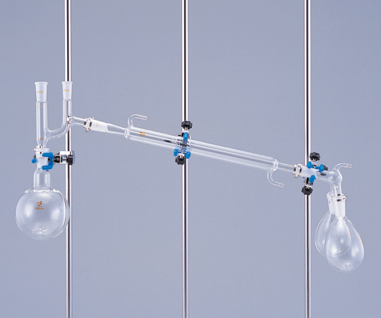 アズワン 常圧蒸留装置用共通摺合アダプター 0235-03-10 (1-9949-02) 《実験器具・材料・備品》