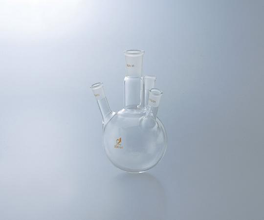 アズワン 共通摺合四つ口フラスコ 0082-10-10 (1-4362-02) 《実験器具・材料・備品》
