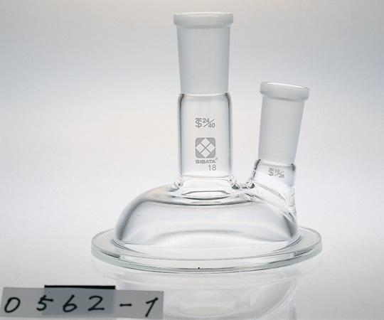アズワン セパラブルカバー (平面すり合わせタイプ) 005720-1(二口) (1-7802-02) 《実験器具・材料・備品》
