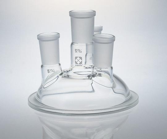 アズワン セパラブルカバー (平面すり合わせタイプ) 005740-1(四口) (1-7802-04) 《実験器具・材料・備品》