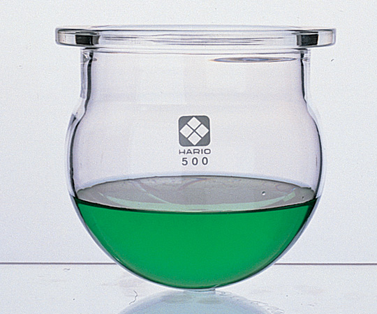 アズワン セパラブルフラスコ丸形 (平面すり合わせタイプ) 005660-3000 (1-7803-05) 《実験器具・材料・備品》