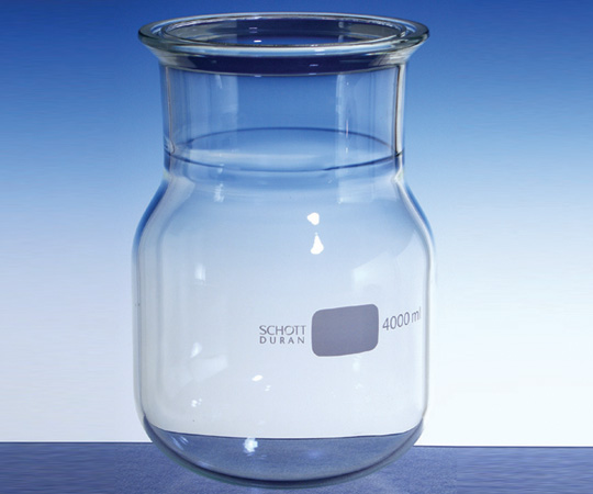 アズワン セパラブルフラスコ 円筒形丸底 (DURAN(R)) 1-8492-04 《実験器具・材料・備品》