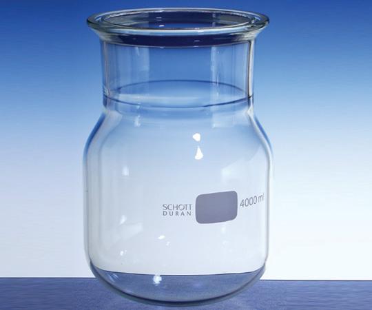 アズワン セパラブルフラスコ 円筒形丸底 (DURAN(R)) 1-8492-05 《実験器具・材料・備品》