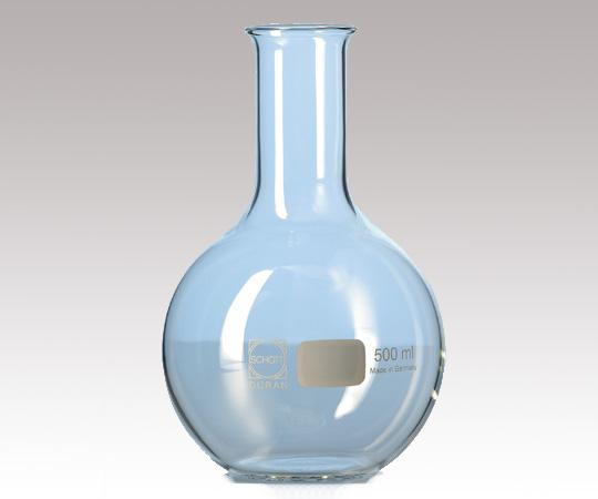 アズワン 平底フラスコ (DURAN(R)) 2-1967-07 《実験器具・材料・備品》