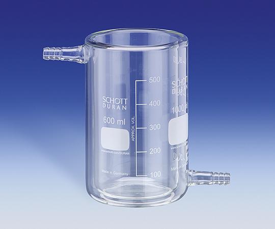 アズワン 保温・保冷ビーカー T600 (1-1757-02) 《実験器具・材料・備品》