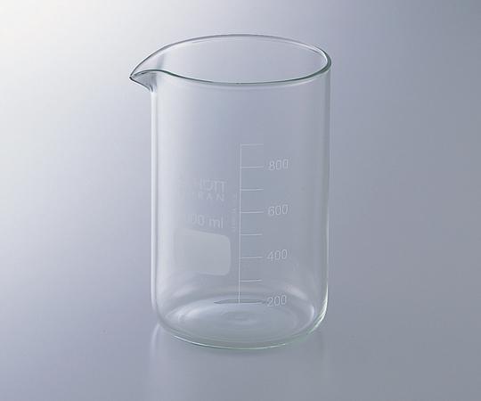 アズワン 厚手ビーカー (DURAN(R)) 1-8401-08 《実験器具・材料・備品》