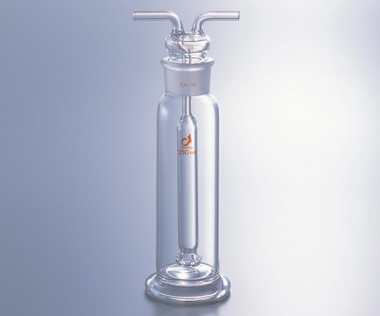 アズワン ガス洗浄瓶 (ムインケ式) 0454-03-10 (1-9544-03) 《実験器具・材料・備品》