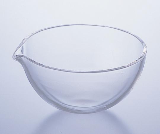 アズワン 石英蒸発皿 (丸底) 2-7640-02 《実験器具・材料・備品》