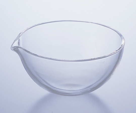 アズワン 石英蒸発皿 (丸底) 2-7640-03 《実験器具・材料・備品》